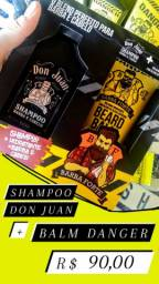 Kit Don Juan + Danger com Shampoo e Balm