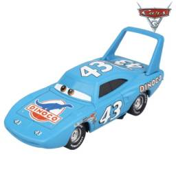 Título do anúncio: The King  Filme Carros Disney Miniatura Mcqueen 1:55