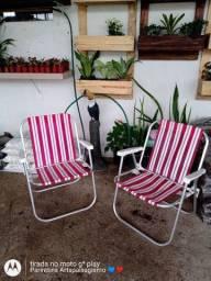 Cadeira de praia semi Nova
