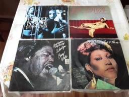 LP Vinil, Lote com 22 discos de Soul, Funk, Hip Hop, Jazz, Eletrônico
