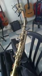 Saxofone Soprano Eagle SP 502 VG Envelhecido