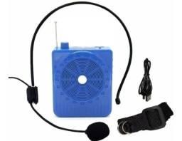 Megafone Portátil  Amplificador Com Microfone K-150 - Potência 5 watts