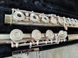 Título do anúncio: Flauta Gemeinhardt 3 Shb - Bocal Prata Maciça