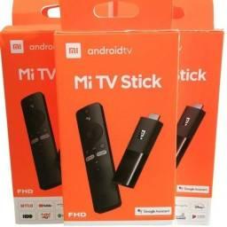 Xiaomi Mi Stick - Versão Global ?Transfome Tv em Smart - Lacrado - Disponível