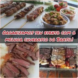 Buffet de churrasco/Churrasqueiro