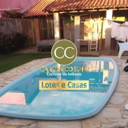 Hc463 Casa+Quitinete no Condomínio Verão Vermelho