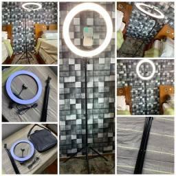 Iluminador Ring Light 18 Polegadas