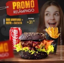 Título do anúncio: O melhor hamburguer agora no Eusébio