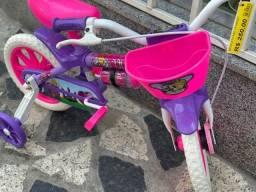 Título do anúncio: Aproveite tenho Para Criança de 3 anos bicicleta nova aro 12 infantil