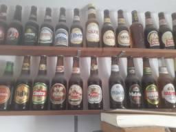 Coleção de garrafas Long-Neck
