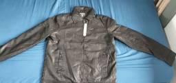 Título do anúncio: Jaqueta de couro Emporio Armani
