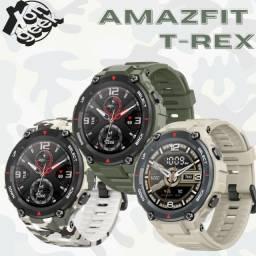 Amazfit T-Rex   Lacrada com garantia   Smartwatch com certificação militar