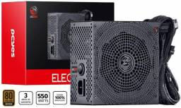 Fonte 550w Pcyes Electro V2 80plus PFC