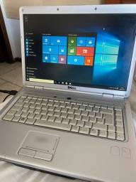 Notebook Dell Intel core i5 com 320giga 3 de ram bateria viciada uso na tomada