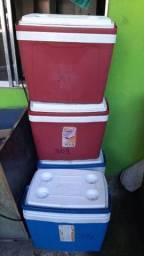 Caixa térmica/placa de gelo