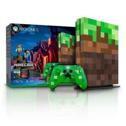 Título do anúncio: Xbox One S Versão Minecraft (edição especial)