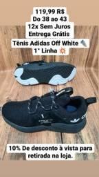 Título do anúncio: Tênis Adidas Off White