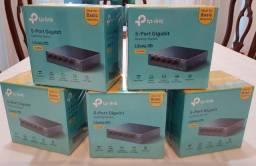 Switch Tp-link Ls105g Série Litewave Case Metal Novo