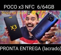 XIAOMI POCO X3 NFC 6/64GB (lacrado) mas brinde ?fone bluetooth