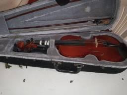 Título do anúncio: Violino 4/4 completo R$250