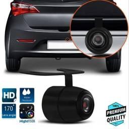 Kit Câmera De Ré Estacionamento Automotiva  Noturna