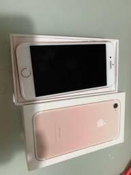 Vendo IPhone 7 256Gb cor rosa
