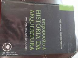 Livro introdução a história da arquitetura