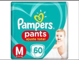 Fralda Pampers pants - 60 UNIDADES