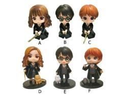 Kit 3 Action Figures Qposket Harry Hermione E Rony (2 modelos)