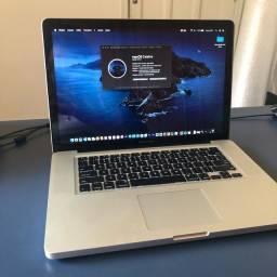 Título do anúncio: MacBook Pro i7 15 MID 2012