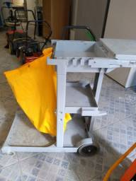 equipamento carrinho limpeza-lava jato-enceradeira piso
