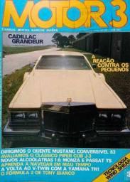 Revista Motor 3 26 - Monza, Passat TS, Mustang, Cadillac