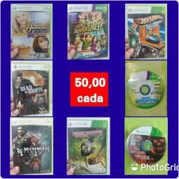 Jogos para Xbox 360 valores nas fotos