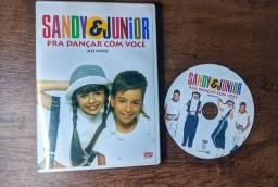 DVD SANDY E JUNIOR - PRA DANÇAR COM VOCÊ AO VIVO (FAN MADE)