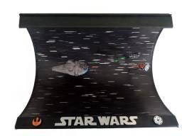 Diorama Star Wars Millenium Falcon vs Tie Fighter
