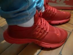Tênis Nike Air Presto Vermelho N°40 Novo Lacrado na Caixa