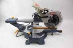 serra meia esquadria telescopia 30 cm corte Ryobi  c/ laser guia de corte- dewalt- bosch