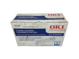Título do anúncio: Fotocondutor Okidata C3400N / 43460203 Cyan Original Novo S/D