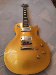 Guitarra Les Paul Michael GM750N Gold Top