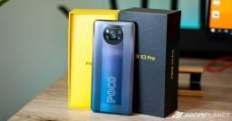 Celular XIAOMI POCO X3 PRO 256 GB E 8 RAM novo na caixa mais garantia