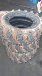 Título do anúncio: Vendo pneus p trilha 265 X 70 X 16
