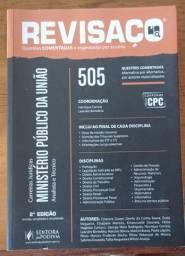 Revisaço - MPU - mais de 505 questões organizadas e comentadas - Jus Podivm