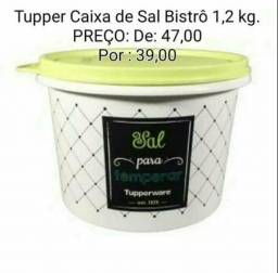Caixa de Sal da Tupperware