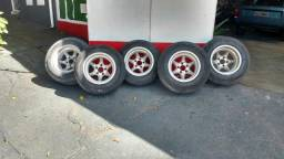 Vendo 5 rodas gaúcha R14 chame no whatsapp
