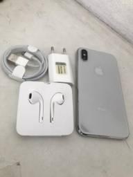 IPhone X 256gb com garantia Apple