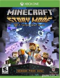 Minecraft Story Mode Xbox One - Novo - Envio Grátis para todo o Brasil