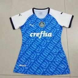 7c24419008 Lançamento Camisa Palmeiras Feminina Comemorativa Marcos 2019