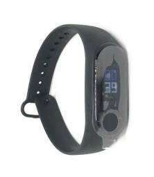 Relógio Pulseira Inteligente Medidor De Frequência Cardíaca Smartband Fit M3 Novo na Caixa