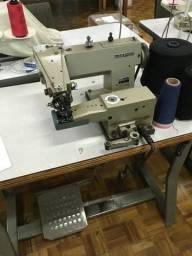 Máquina de costura ponto invisível industrial