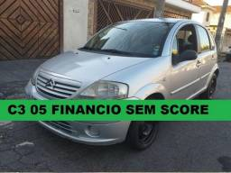 Citroen c3 2005 financiamento com score baixo